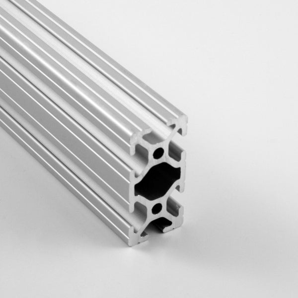 "1.0"" x 2.0"" Grooved T-Slotted Aluminum Extrusion"