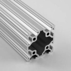 "2.0"" x 2.0"" Grooved T-Slotted Aluminum Extrusion"