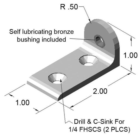 "1.0"" Living L-Pivot Arm"
