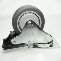 "13CA8113 3.5"" Swivel Caster with Brake side"