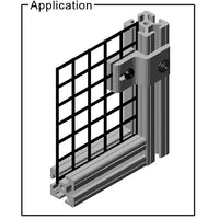 "15AC7105 1.5"" Mesh Retainer application"