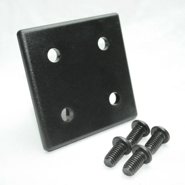 "2.0"" x 2.0"" Heavy Duty End Cap for EX & QE Profiles"