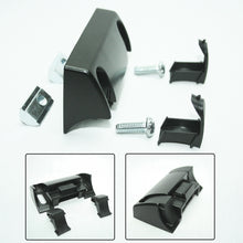 Black Front Mount Slam Latch assembly