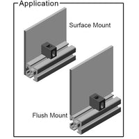 1/4 Turn Panel Mount Block