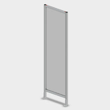 "Aluminum Polycarbonate Guard - 24"" x 84"""