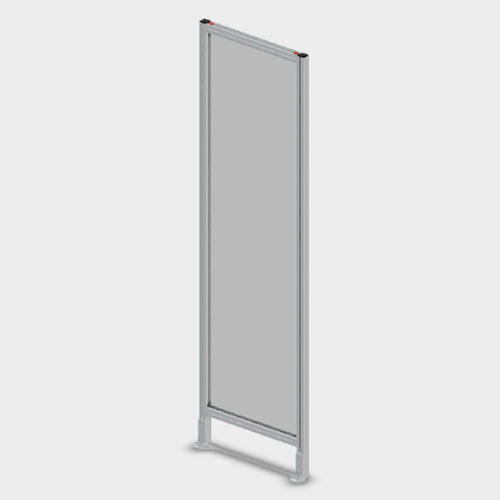 Aluminum Polycarbonate Guard - 24