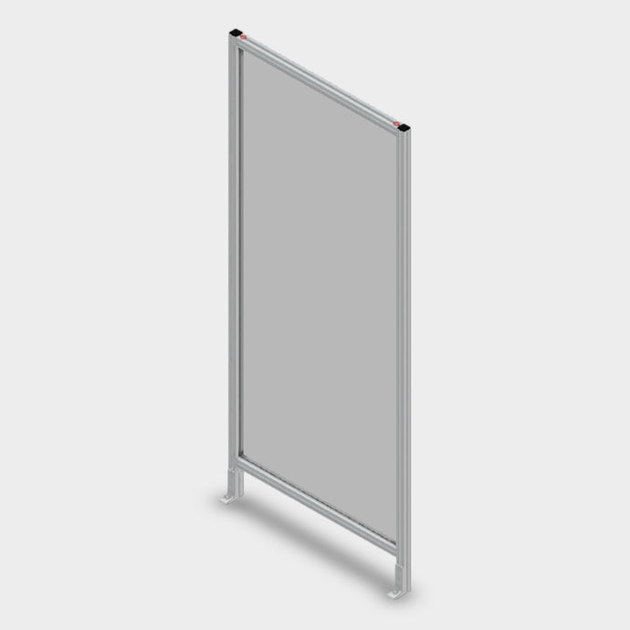 Aluminum Polycarbonate Guard - 36