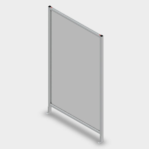 Aluminum Polycarbonate Guard - 48