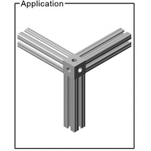 15CB4846 Square Tri-Corner Bracket application