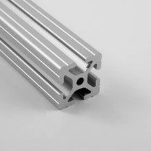 "1.5"" x 1.5"" Grooved T-Slotted Aluminum Extrusion"