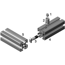 T-Anchor Fastener Assembly assembly