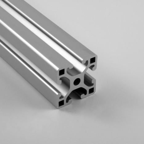 "1.5"" x 1.5"" Lite Smooth T-Slotted Aluminum Extrusion"