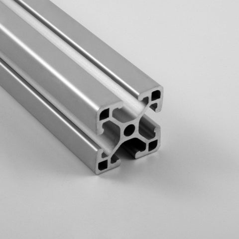 "1.5"" x 1.5"" Ultra-Lite Smooth T-Slotted Aluminum Extrusion"