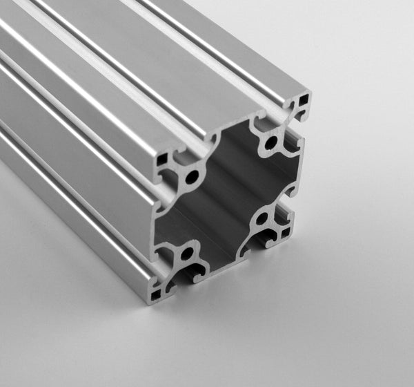 "3.0"" x 3.0"" Lite Smooth T-Slotted Aluminum Extrusion"