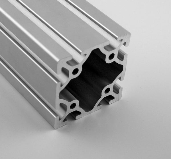 "3.0"" x 3.0"" Smooth T-Slotted Aluminum Extrusion"