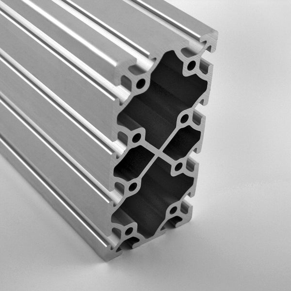 "3.0"" x 6.0"" Smooth T-Slotted Aluminum Extrusion"