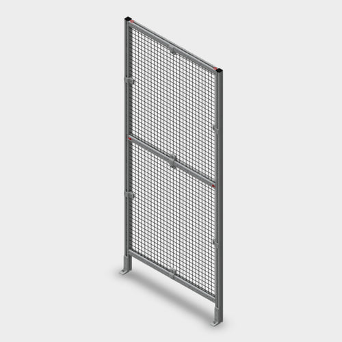 Assembled Aluminum Guarding Panel - 36