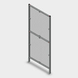 "Assembled Aluminum Guarding Panel - 36"" x 84"""