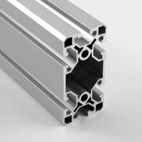 40mm x 80mm Smooth Ultra-Lite T-Slotted Aluminum Extrusion