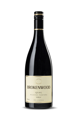 Brokenwood Quail Shiraz 2015 ~ Hunter Valley