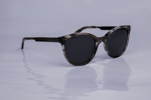 WOODU! Saskia Black Grey Tortoise