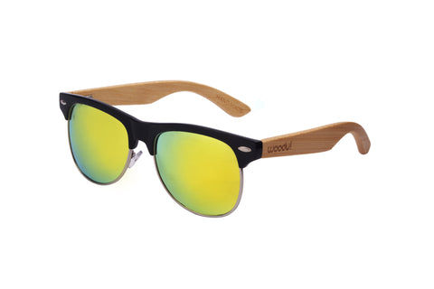 WOODU! Grace Black Sunset Polarized