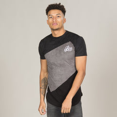 Merit Tee - Black/Grey