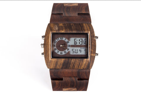 WOODU! Watch Black