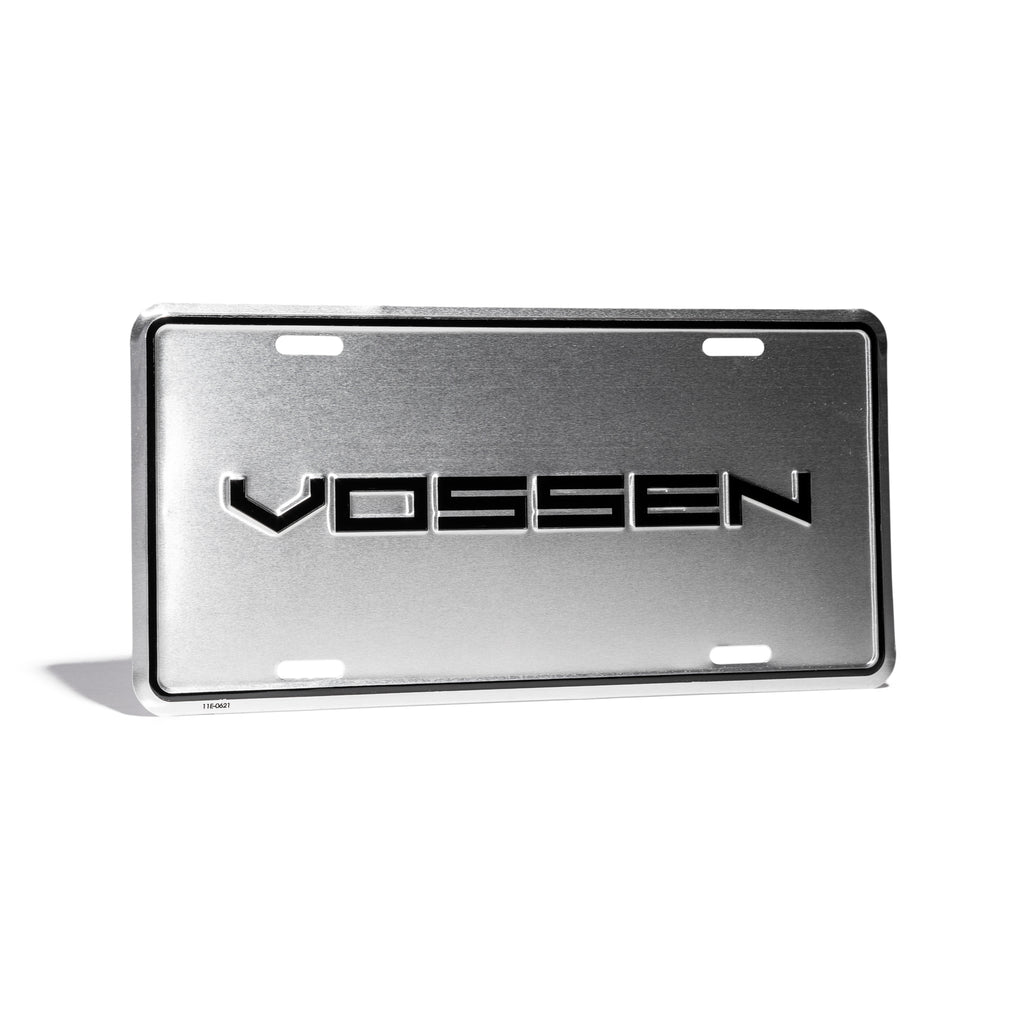 Classic Vossen North American License Plate Cover
