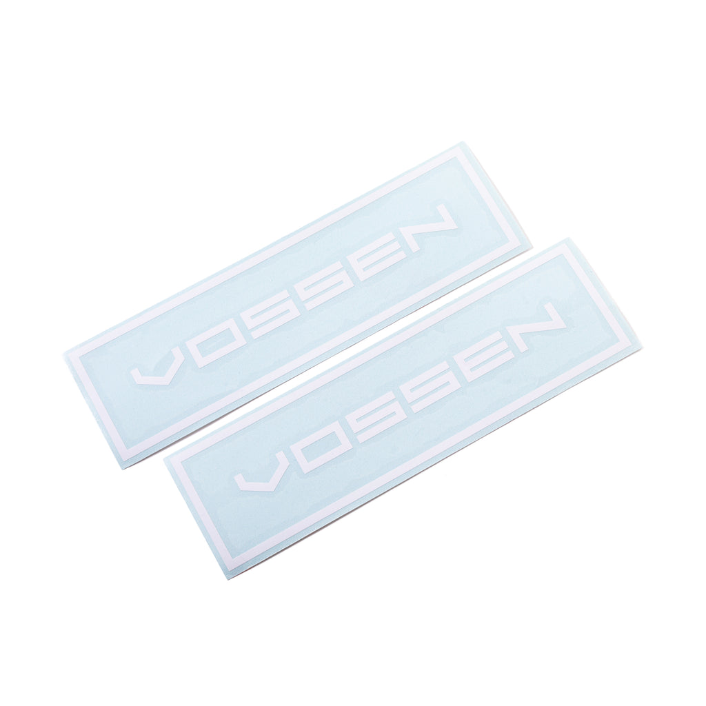 Small Classic Vossen Outline Decal 2-Pack