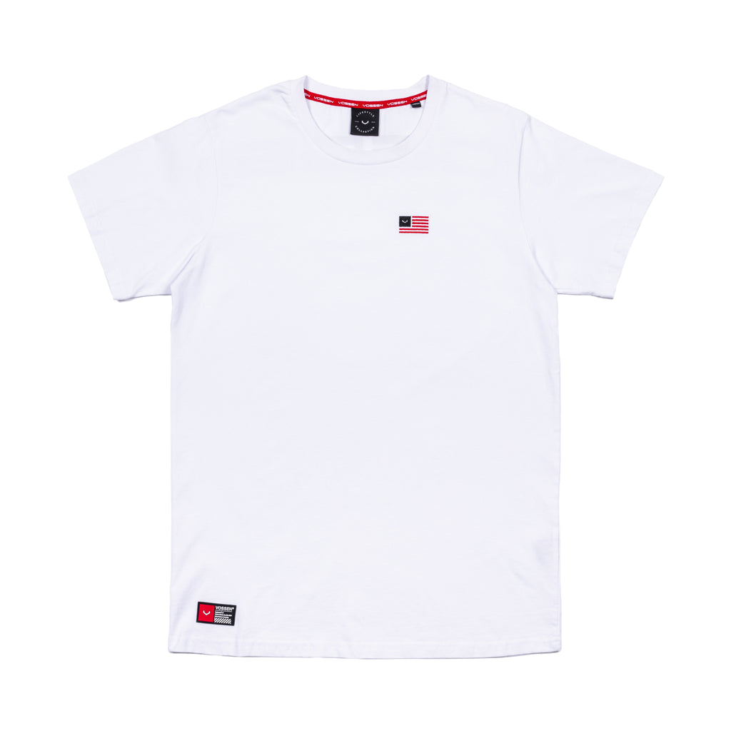 Flag S/S | White - Vossen