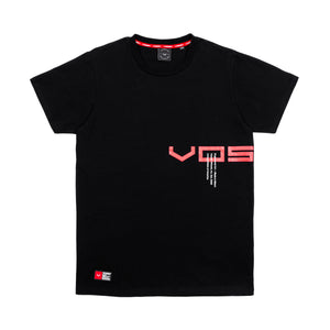 Split Slab Tee | Black
