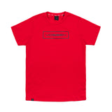 Slab Outline Tee|Red