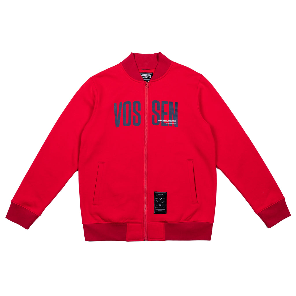 Team Zip Up |  Red - Vossen