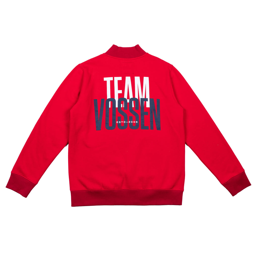 Team Zip Up |  Red