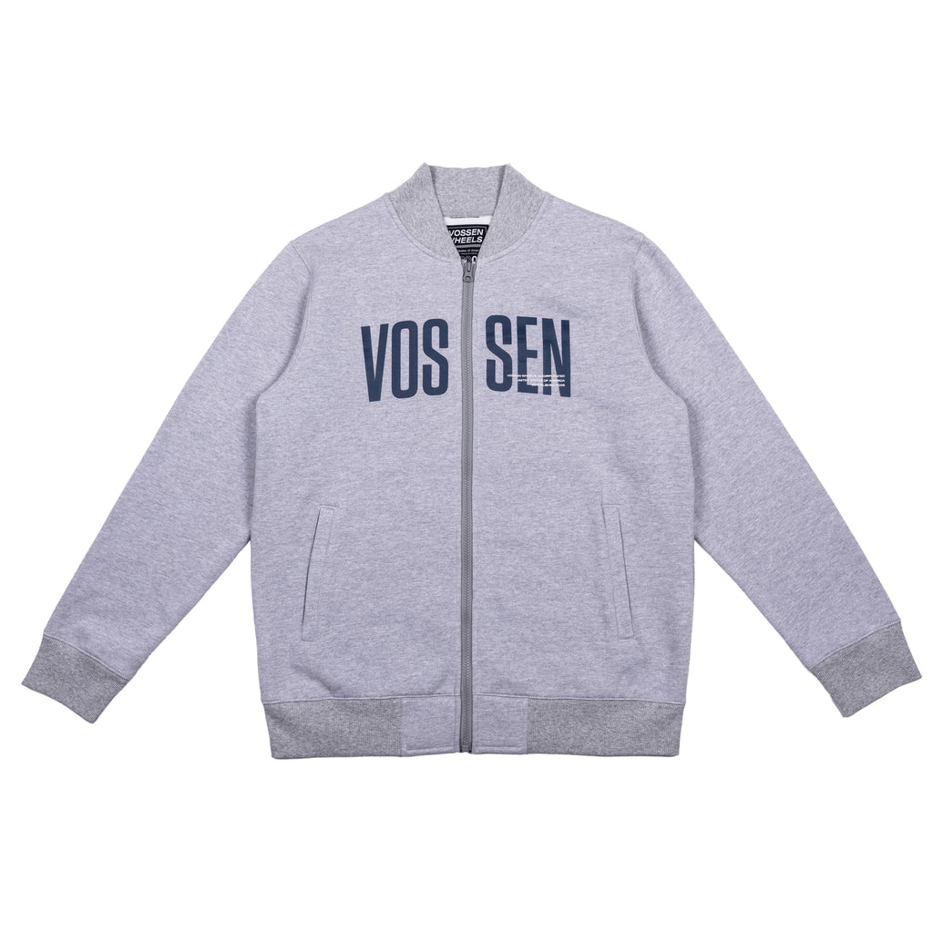 Team Zip Up | Heather Gray - Vossen