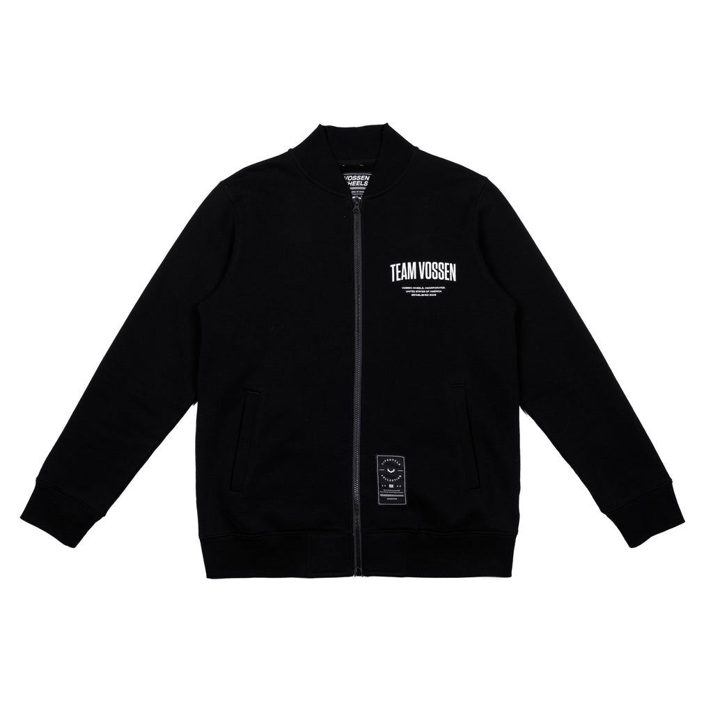 Team Zip Up | Black