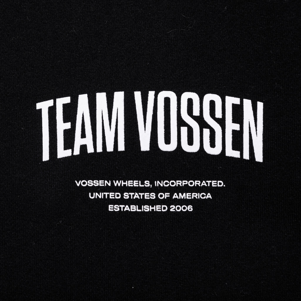 Team Zip Up | Black - Vossen