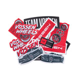 Vossen Classic Series Sticker- Combo Pack