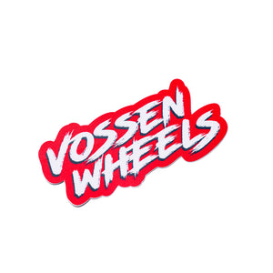 Vossen Thrashed Decal- 2 Pack - Vossen