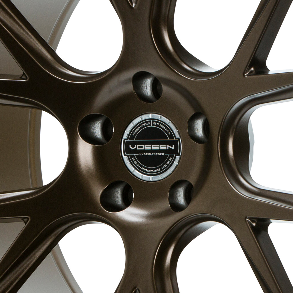 Hybrid Forged Billet Sport Cap Set for VF & HF Series Wheels (Gloss Clear)