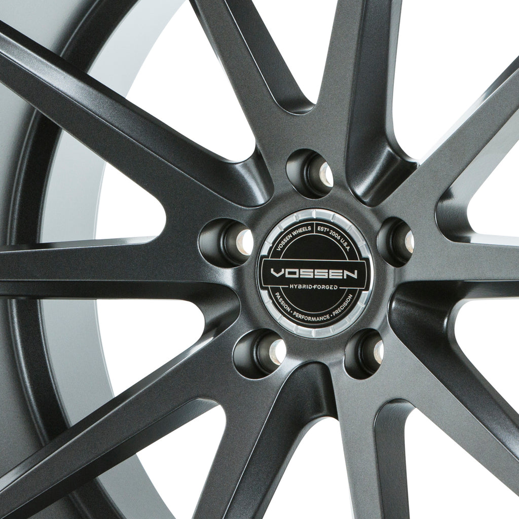 Hybrid Forged Billet Sport Cap Set for VF & HF Series Wheels (Gloss Clear) - Vossen