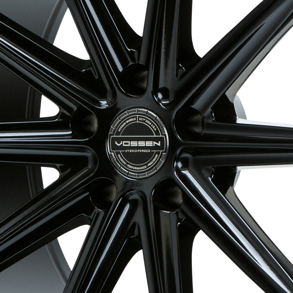 Hybrid Forged Billet Sport Cap Set for VF & HF Series Wheels (Gloss Black) - Vossen