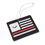 Black Flag Air Freshener (Black/Red/White)