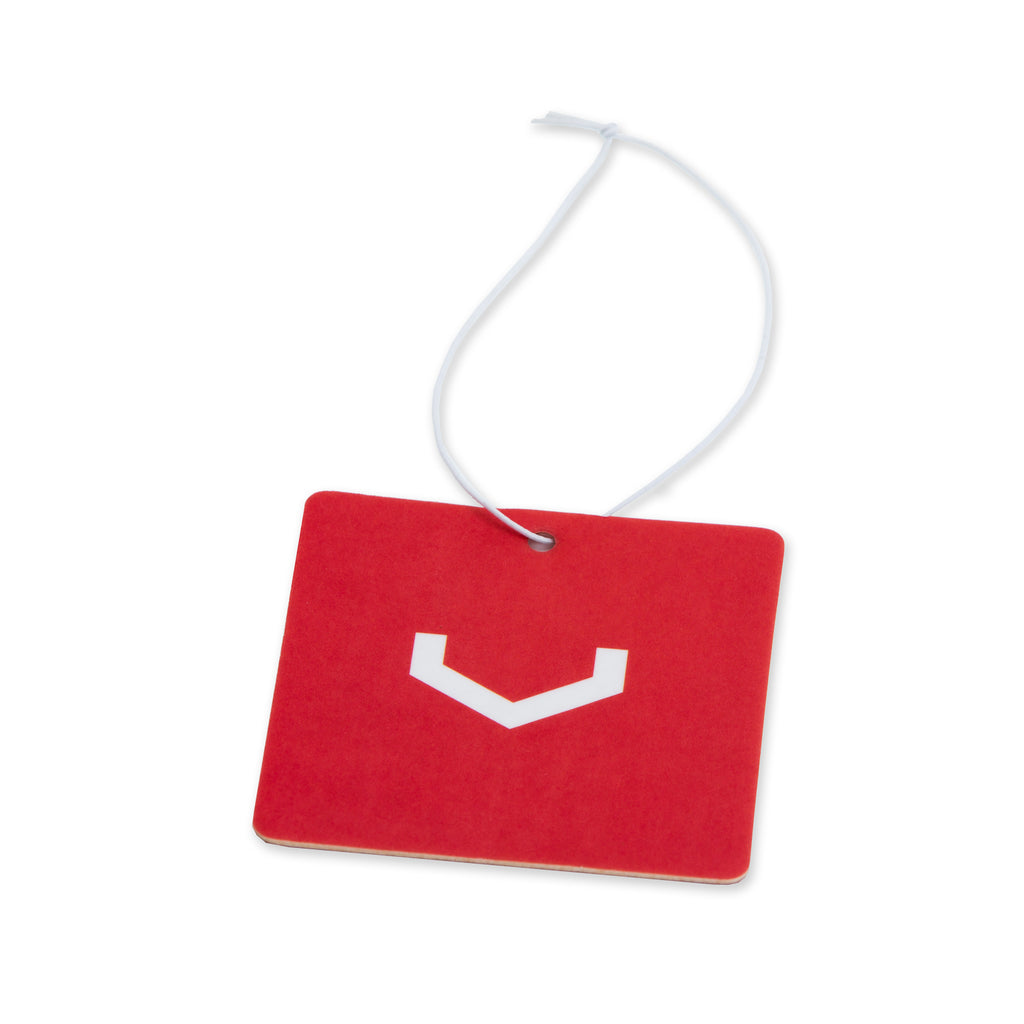 Classic V Square Air Freshener (Red/White) - Vossen