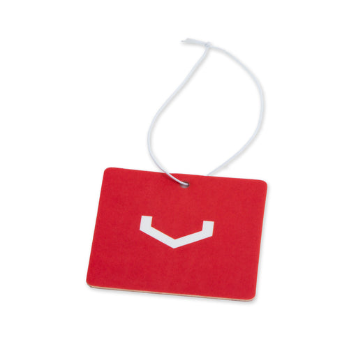 Classic V Square Air Freshener (Red/White)