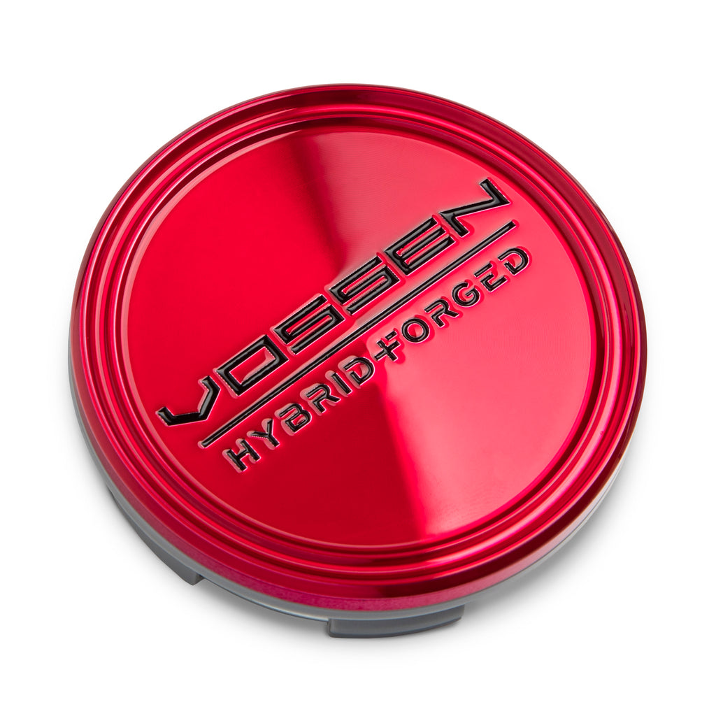 Hybrid Forged Optional Center Cap (Transparent Red/Black)
