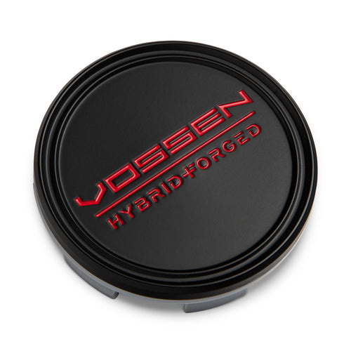 Hybrid Forged Optional Center Cap (Satin Black/Red)