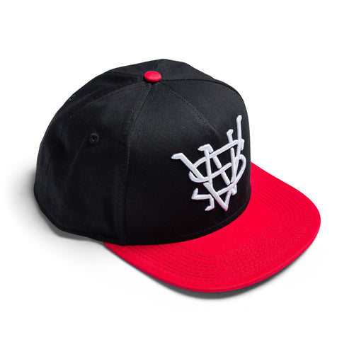 VSN Hat (Black/Red)