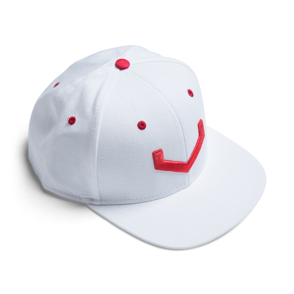 xxxVossen V Hat (White/Red) - Vossen
